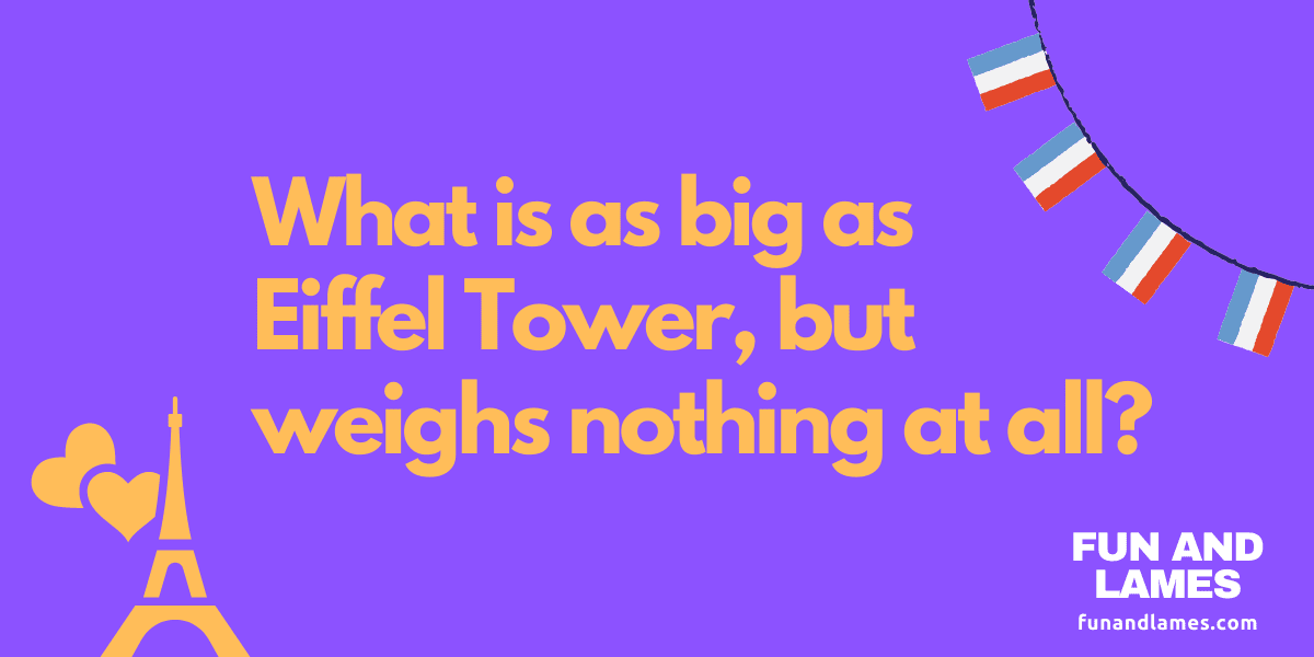 riddle with answers hard - Eiffel Tower
